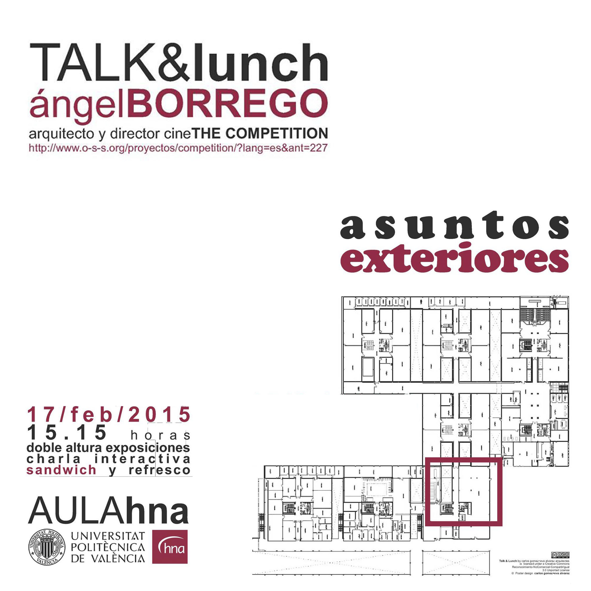 TALK & lunch: Asuntos exteriores